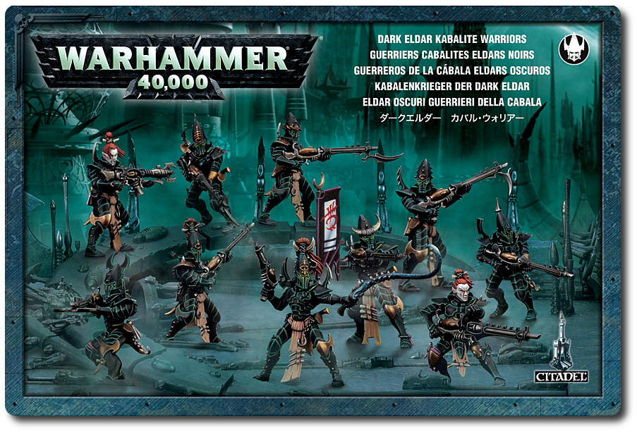 Warhammer 40.000 - figurki Dark Eldar Kalibate Warriors
