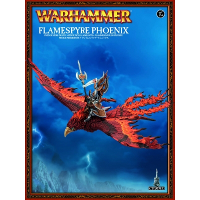 High Elves - Figurka Flamespyre Phoenix