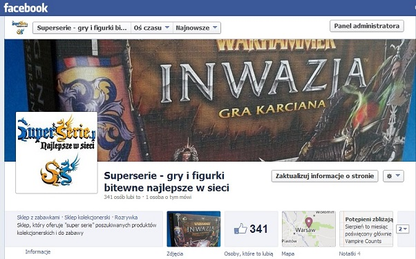 Superserie na Facebooku