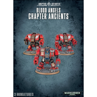 Blood Angels Chapter Ancients - figurki Warhammer 40.000