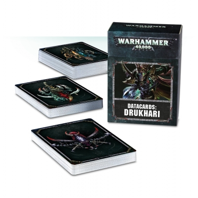 Datacards: Drukhari /ENGLISH/ sklep Warhammer