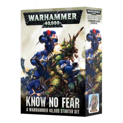 Know No Fear: Warhammer 40,000 Starter Set /EN/ - figurkowa Gra bitewna