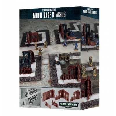Warhammer 40K: Realm of Battle - Moon Base Klaisus - mata do gry