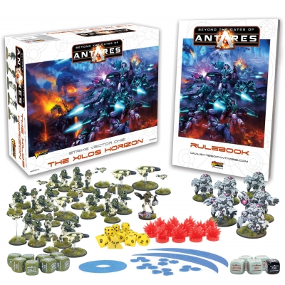 Gra bitewna Beyond the Gates of Antares Launch Edition Starter Set