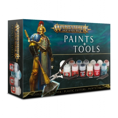Warhammer Age of Sigmar Paints & Tools Set www.superserie.pl