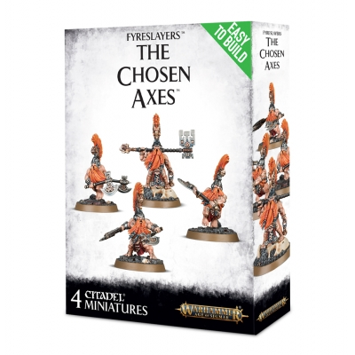 Figurki Easy To Build: Fyreslayers The Chosen Axes