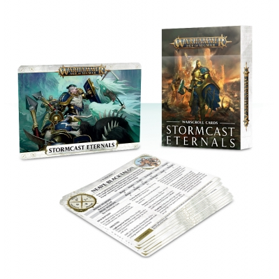 Age of Sigmar Warscroll Cards: Stormcast Eternals