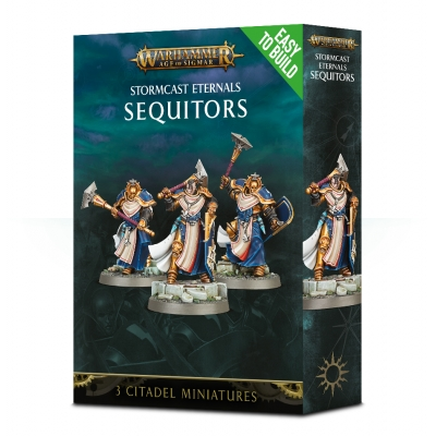 Figurki Easy to build: Stormcast Eternals Sequitors