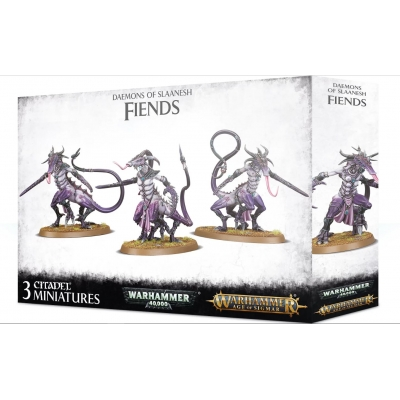 Daemnos of Slaanesh: figurki Fiends
