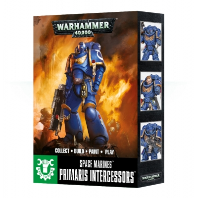Figurki Easy To Build: Primaris Space Marine Intercessors - sklep tanie figurki GW