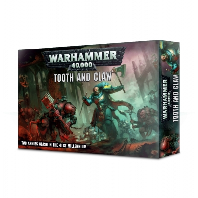 Warhammer 40,000 Space Wolves: Tooth & Claw (EN)